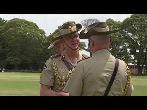 Forces Command Change Of Command Ceremony