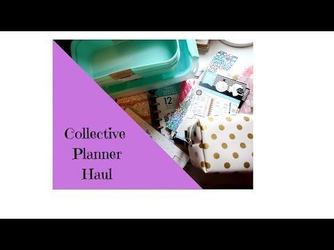 Collective  Planner Haul   Joann   Michaels   Hobby Lobby