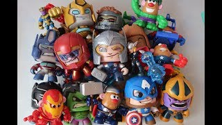 Caja de Juguetes Imaginext Playskool Marvel Avengers Mighty Muggs #kidsplacetown