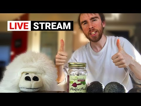 🔴 How To Make The Best Fermented Probiotic Guacamole! Live Stream #1