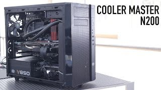 Cooler Master N200 MicroATX Case Overview