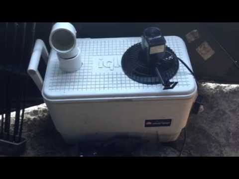 Ice Chest Air Conditioner Youtube