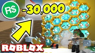 SPENDING ALL MY ROBUX ON THIS GAME FOR LEGENDARIES! BEE SWARM SIMULATOR | Roblox