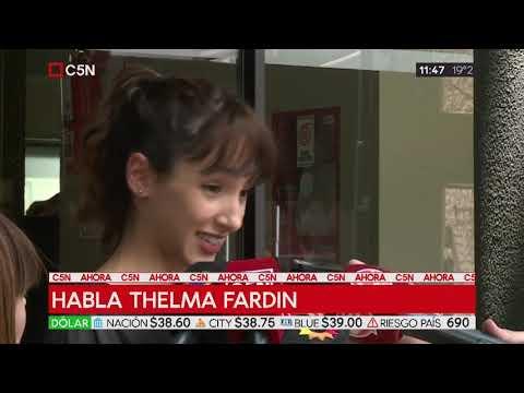 Thelma Fardín: Me duele que quieran utilizar a mi hermana