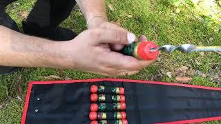Шампурчики ручной работы в прочном чехле