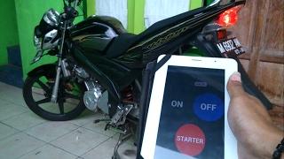 Menghidupkan Dan Starter Motor/Mobil Menggunakan Android Lewat WIFI LOW POWER
