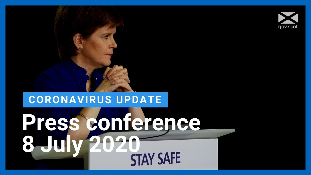 Coronavirus update from the First Minister: 8 July 2020