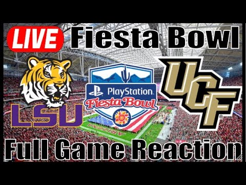 # LSU vs # UCF | Fiesta Bowl | th Quarter Live Reaction