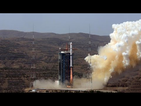 China launches three high-resolution earth observation satellites