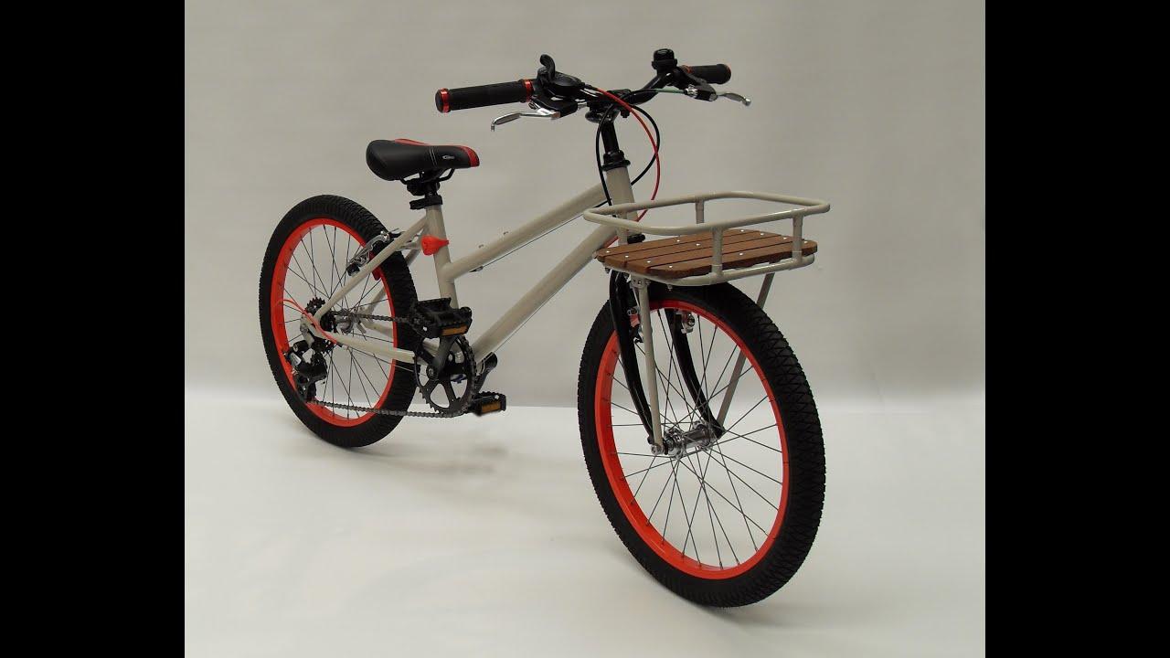 Restauración bicicleta niño - YouTube