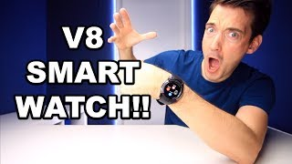 V8 BUDGET SMART WATCH REVIEW