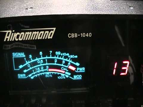 Superscope Aircommand Cbb Cb Radio Rare