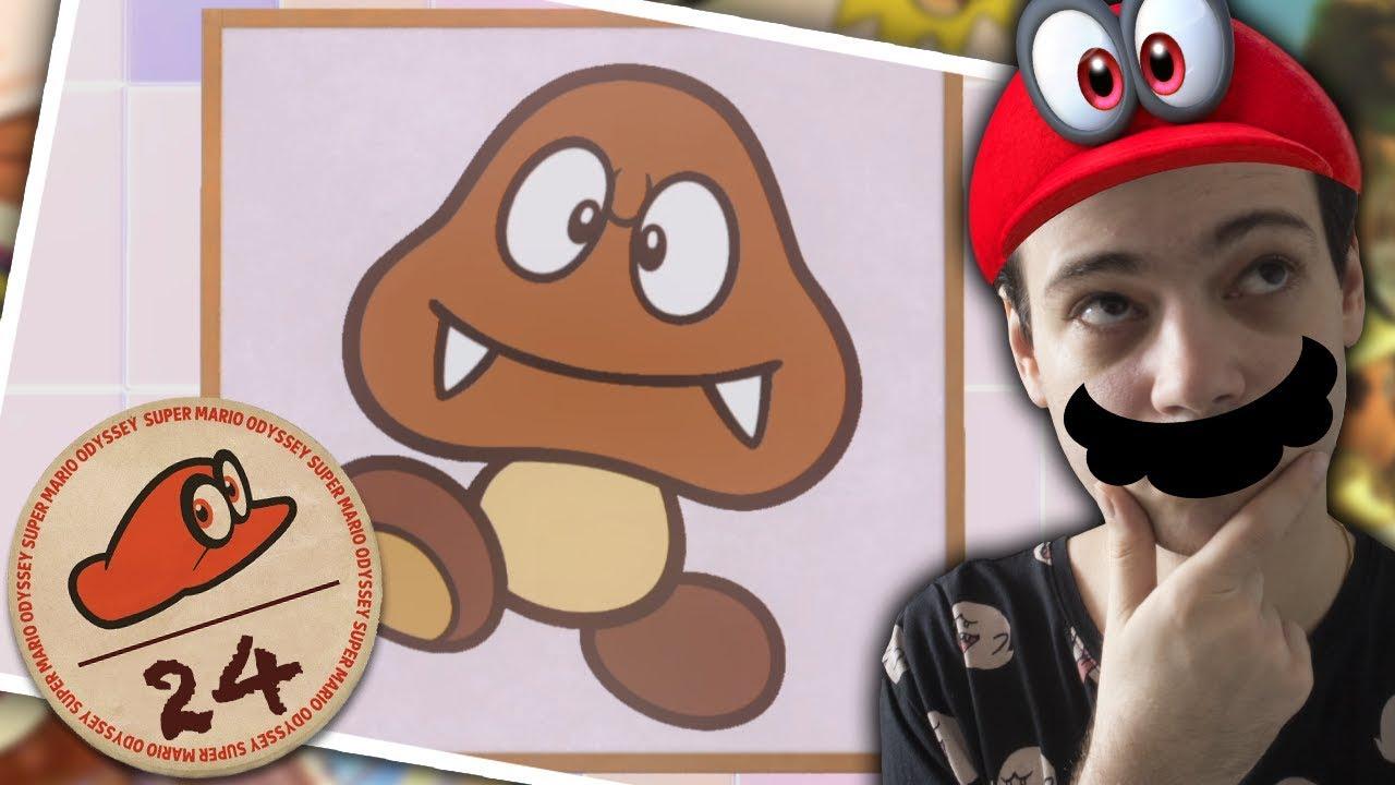 Dessin Mario Odyssey Facile