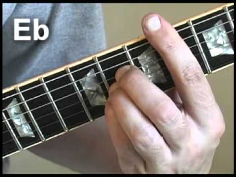 Easy Guitar Lesson - Learn more Barre Chords in the Key of \