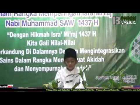 Qori Cilik asli Serang   Banten
