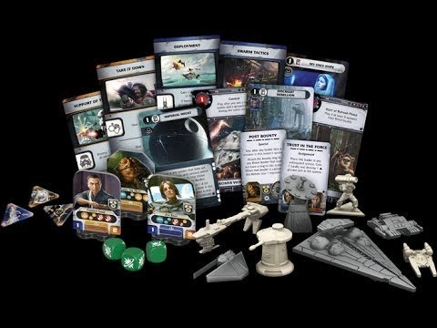 Star Wars Rebellion Rise Of The Empire Unboxing Youtube