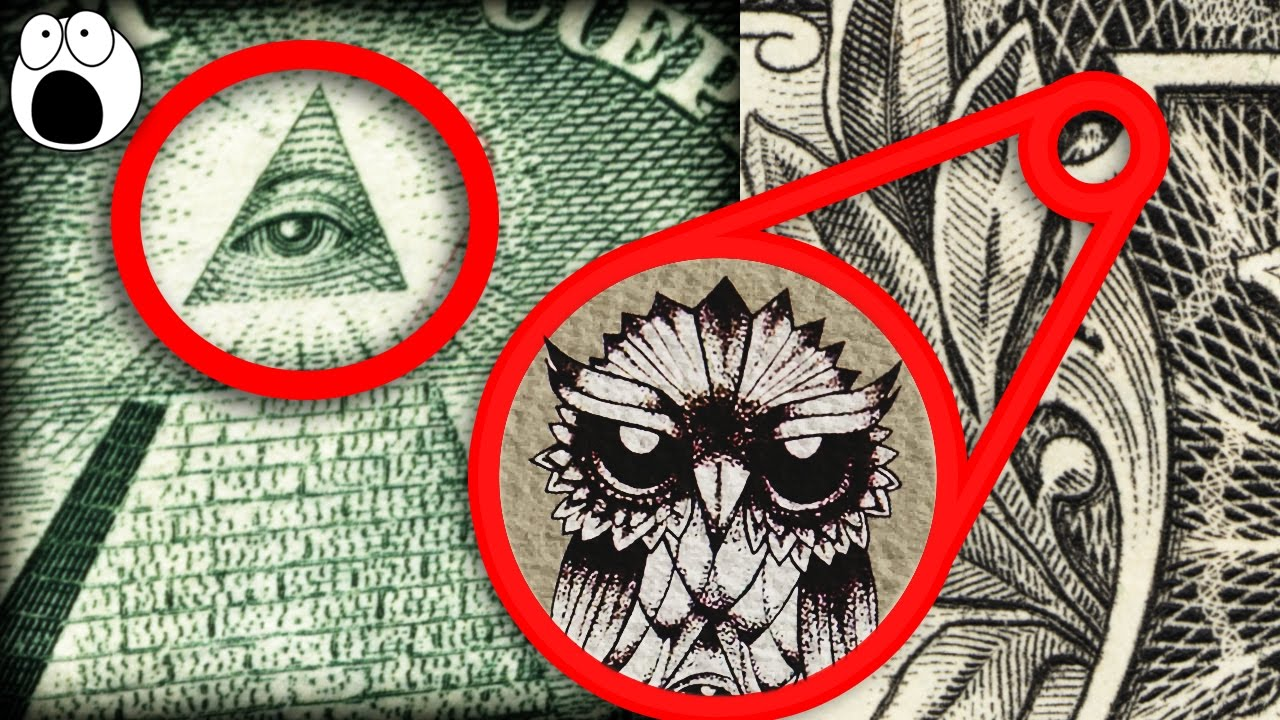 Secret hidden symbols in us dollars youtube for Bureau of the hidden ones
