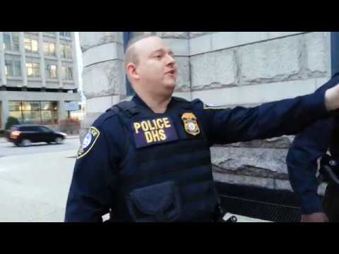 FIRST AMENDMENT AUDIT..Federal building, NUNYA PROJECT With NEWS NOW WISCONSIN