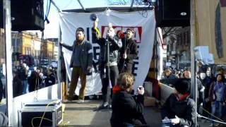 ANTI ACTA SONG 25.02.2012 Hamburg Demo Sänger: Odi