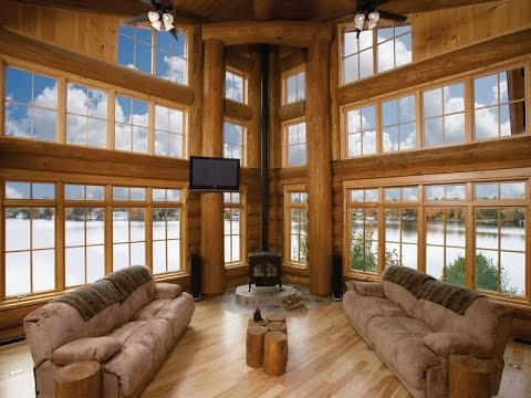 Magnificent Full Log Crafted Home In Gravenhurst, Canada