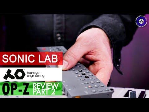 Part 2 OP-Z Sonic Lab Review