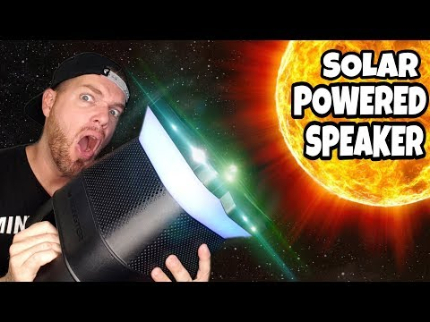 Loudest Solar Powered Outdoor Bluetooth Speaker 2017 | Monster Solara Review