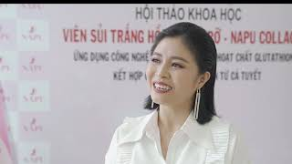 MC nổi tiếng VTV Hoàng Linh Chia sẻ cảm nhận sau khi sử dụng Napu Collagen