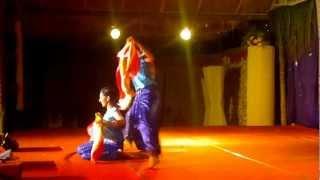 jaya bharata jananiya tanujate, dance by BHARGAVI GROUP OF DANCERS, UDUPI. by namma aldur