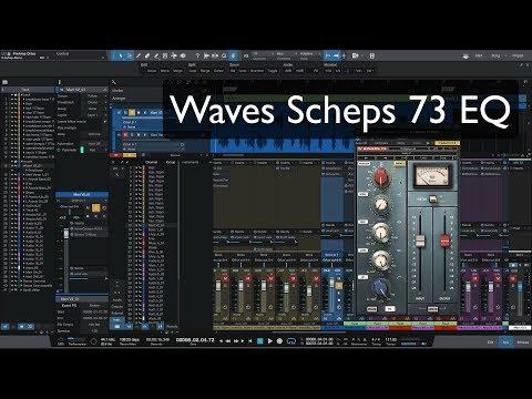 Waves Scheps 73 EQ on vocals