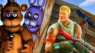 FORTNITE Heroes vs. FNAF ANIMATRONICS in a 3D animated Dance & Fight mashup FunVideoTV - Style ;-))
