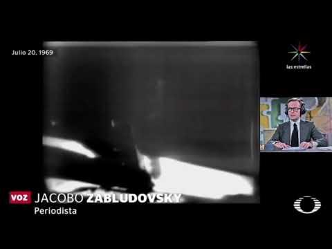 Transmisión del Alunizaje de Apollo XI - México, Jacobo Zabludovsky