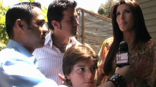 SCOTT STAPP & JACLYN STAPP w/ TYRONE TANN - P.A.M. Event - 2010