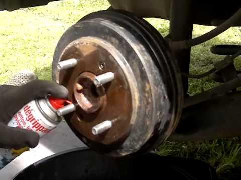 Enlever tambour de frein