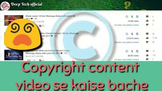 Download Dounload bollywood song without copyright for making status|no copyright song dounload for status