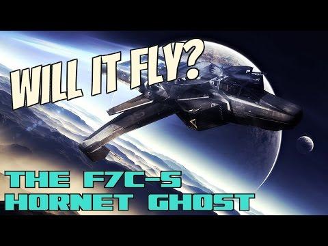 Star Citizen HORNET GHOST Interior - Battle - Design - Landing [1080p 60fps]