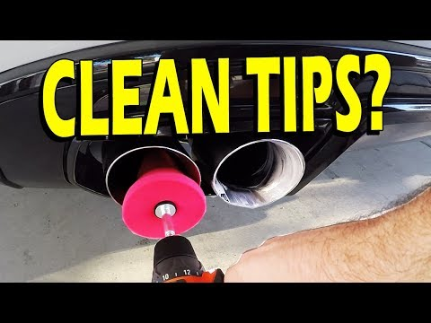 Mothers PowerCone Exhaust Tip Cleaning Guide - Clean Your Tips!