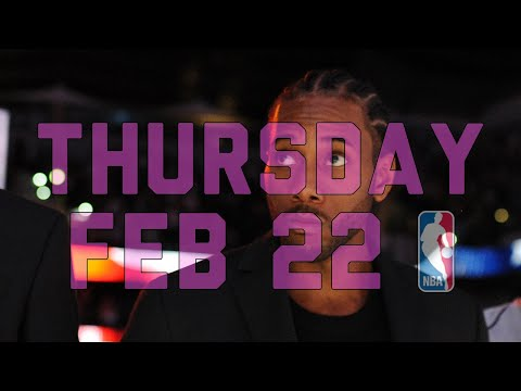 NBA Daily Show: Feb. 22 - The Starters