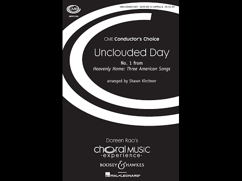 Unclouded Day Arranged By Shawn Kirchner Youtube