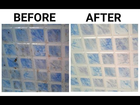 How To Clean Kitchen's Greasy Tiles In Minutes With Only 2 Ingredients/ Easy cooking and tips