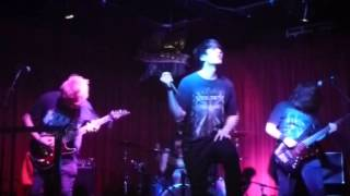 Grievances Aside - Hail Destroyer (Cover) Live @ Rattlesnake,Islington 19/11/12
