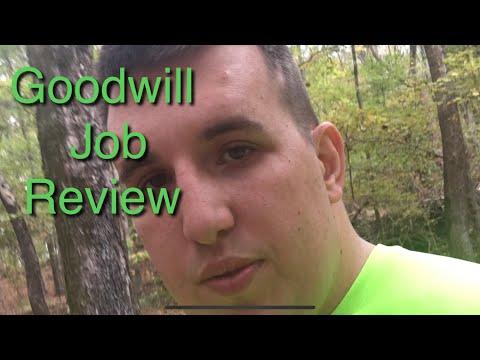 Goodwill job review explain
