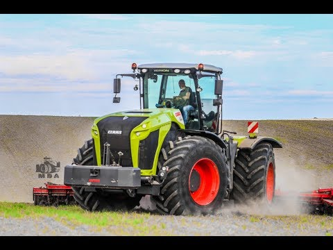 Claas Xerion 5000 | Horsch Joker 10 m | 500 Chevaux sur 4 roues égales!