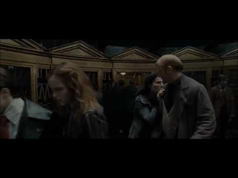 [ 한글 자막 ] 마법부에서 도망치는 해리와 론, 헤르미온느, 해리 포터와 죽음의 성물 pt. 1 中. [HD]