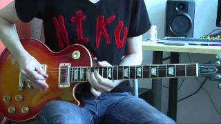Michael Jackson Feat. Slash - Give in to me (guitar solo cover)