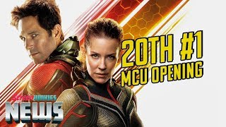 'Ant-Man and the Wasp' Gives MCU 20th Straight #1 Opening - Charting with Dan!