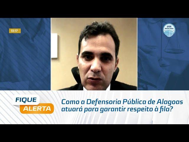 Vacinação Covid-19: Como a Defensoria Pública de Alagoas atuará para garantir respeito à fila?