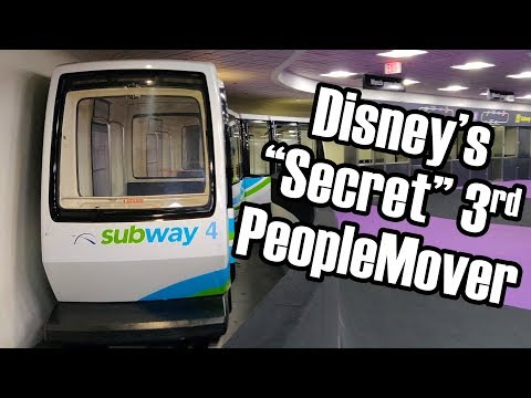 The Story of Disney's PeopleMover in Texas