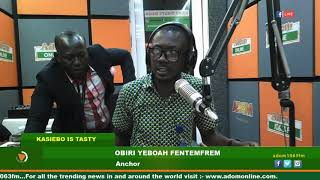 Download MIDDAY NEWS KASIEBO IS TASTY ON ADOM FM (25-6-19) Mp3 and Videos