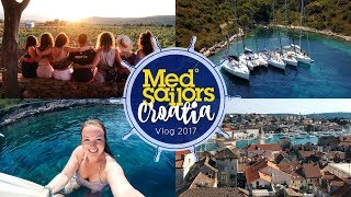 CROATIA TRAVEL VLOG! 🇭🇷 | MEDSAILORS 2017 ⚓️ | Brogan Tate AD