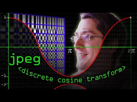 JPEG DCT, Discrete Cosine Transform (JPEG Pt2)- Computerphil